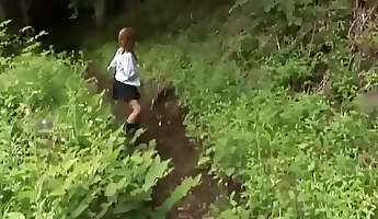 Amazing Japanese whore in Best Outdoor Group Sex JAV clip