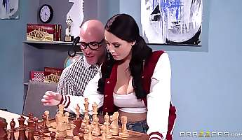 Big Tits at School Noelle Joins the Chest Club Noelle Easton Johnny Sins