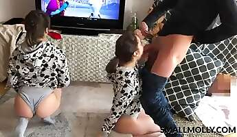 Manamp39s dream triple twins share uncle dick and ass rimming