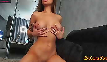 Sexy girl and nice pair of boobs